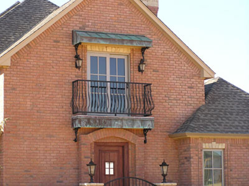Awnings Custom Copper Designs