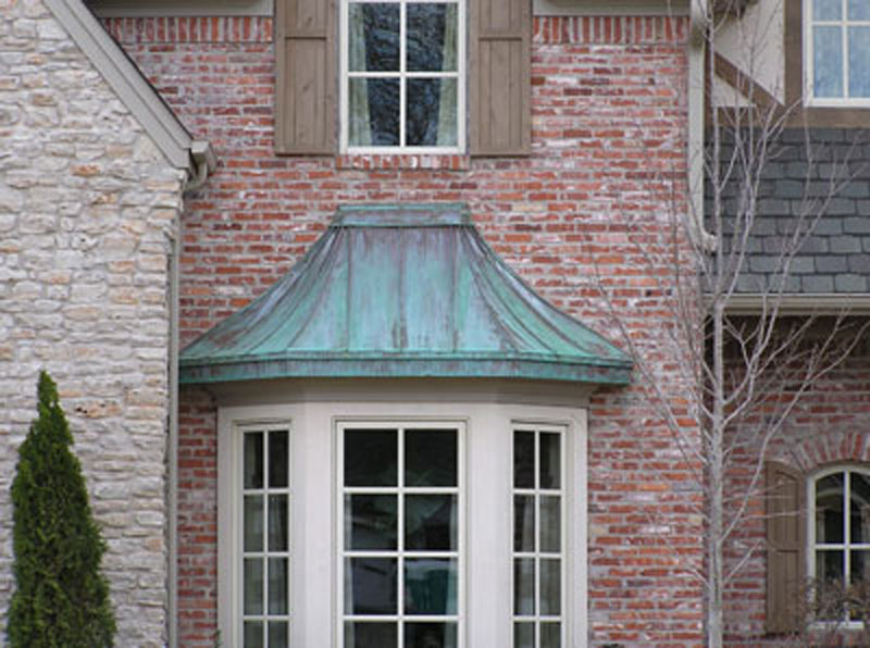 Custom copper designs curvebw bw007 for Curved bay window