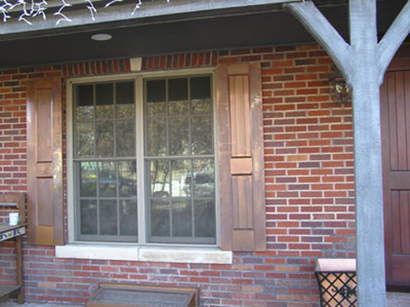 Custom Copper Designs Shutters Sh003