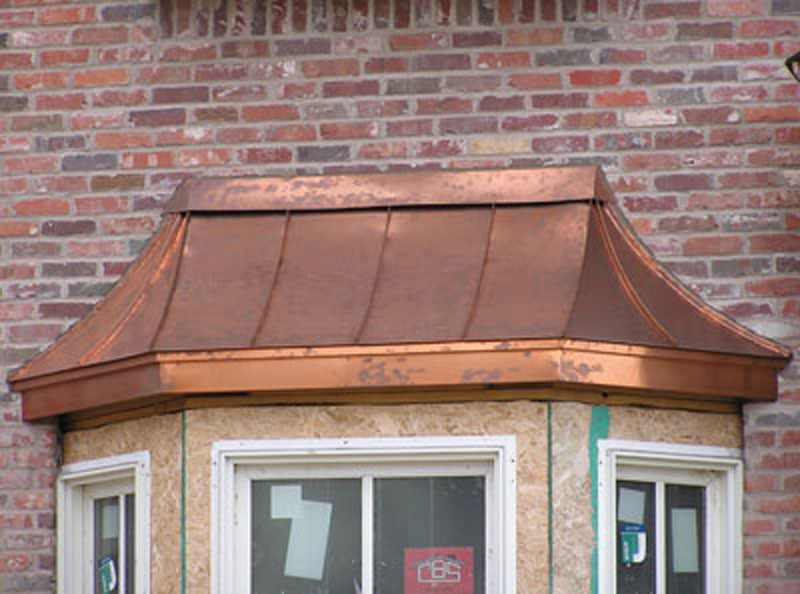 Bay Windows Custom Copper Designs